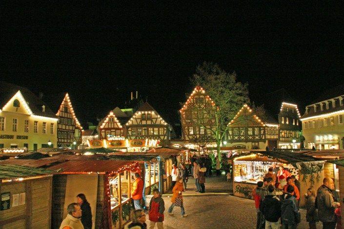 Weihnachtsmarkt Kempen.Weihnachtsmarkt Seligenstadt Kleine Weihnachtsmärkte