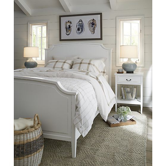 Larsson Queen Bed Reviews Crate And Barrel Bedroom