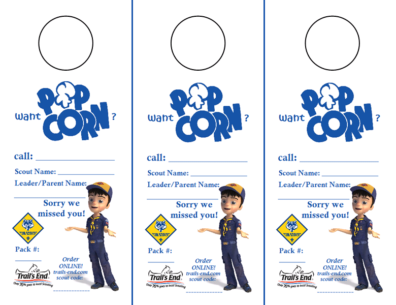Cub scouts popcorn prizes 2018 ford