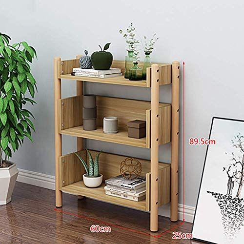 Mttsj10101 Fashion Solid Wood Bookshelf Modern Standing Open Storage Shelf For Living Room Home Office Space Sav Solid Wood Bookshelf Wood Bookshelves Shelves