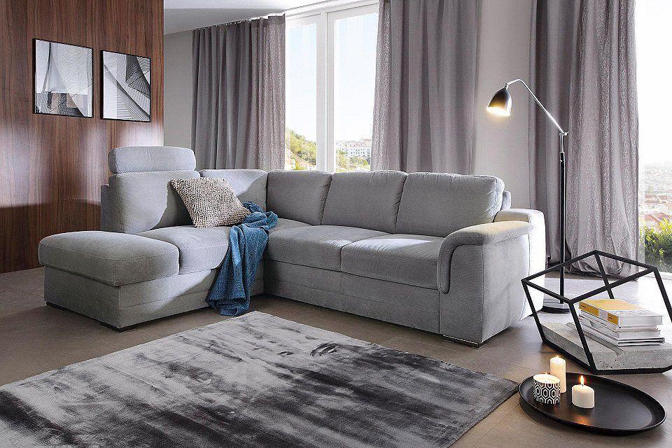 Mondo Wohnzimmer ~ Gala collezione polsterecke wahlweise mit bettfunktion jetzt