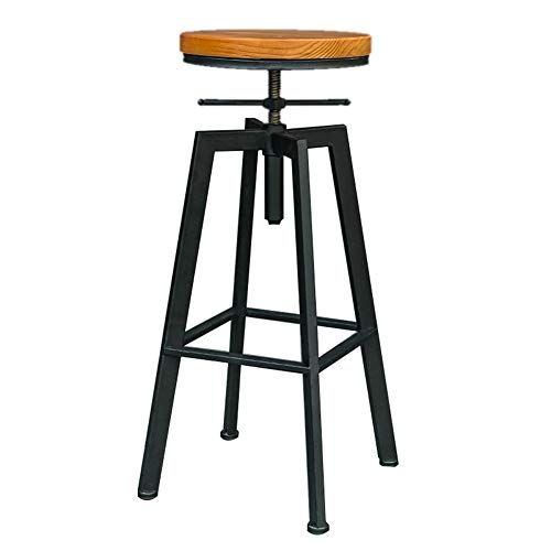 Stupendous American Solid Wood Bar Chair Home Bar Stool Creative High Dailytribune Chair Design For Home Dailytribuneorg