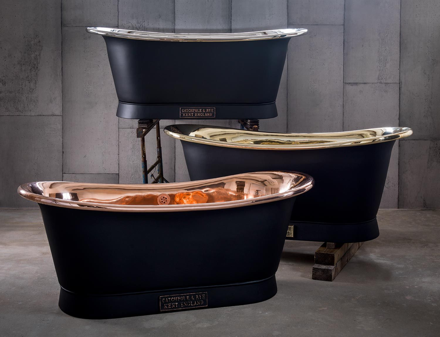 Luxury baths from Catchpole & Rye. #luxury #bathroom #design ...