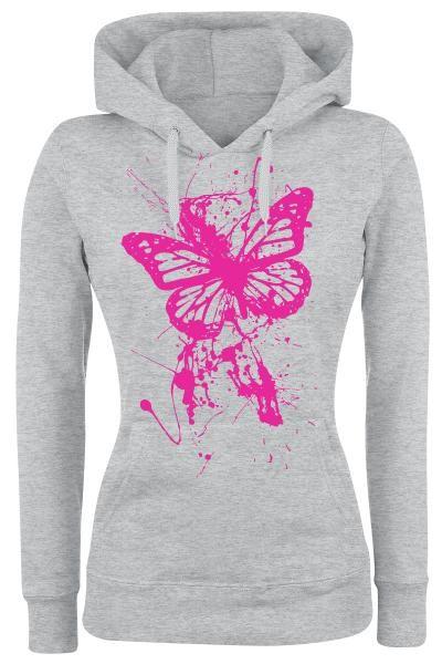 Splatter Butterfly huppari koko XL 15,99e