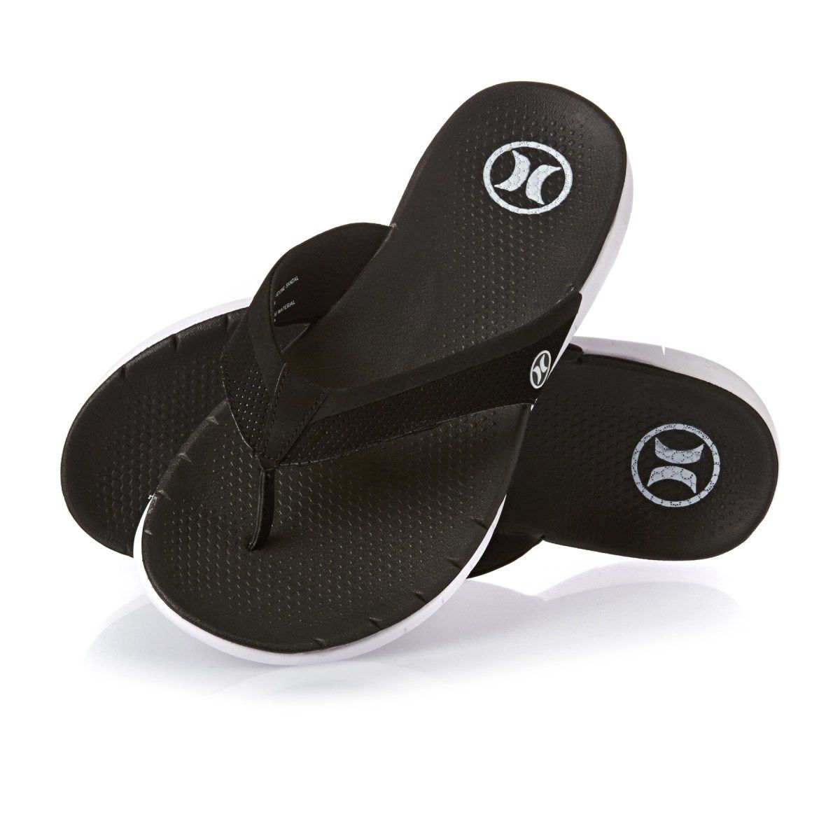 475223233 Men s Hurley Flip Flops - Hurley Phantom Free Sandal Flip Flops - Black  white