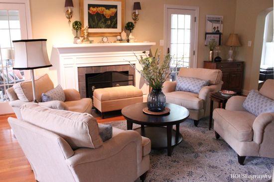 Terrific Living Room 4 Chairs No Sofa Fireplace Houseography Dailytribune Chair Design For Home Dailytribuneorg