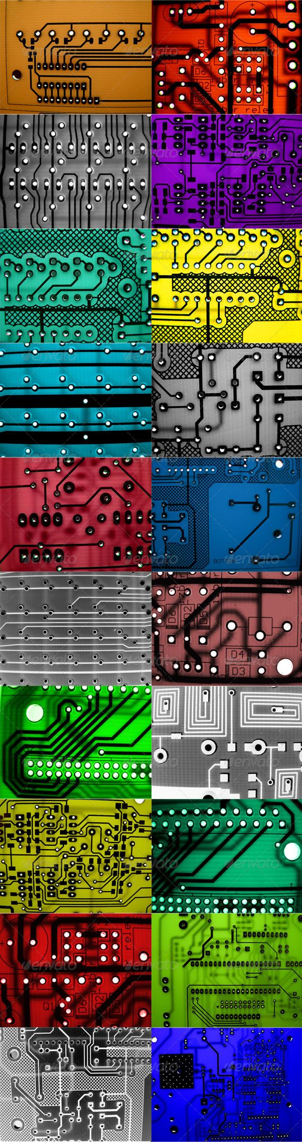 20 Circuit Boards Graphicriver Item For Sale Or Photo Of Computer Electronic Cpu Board Breaking Binary Code