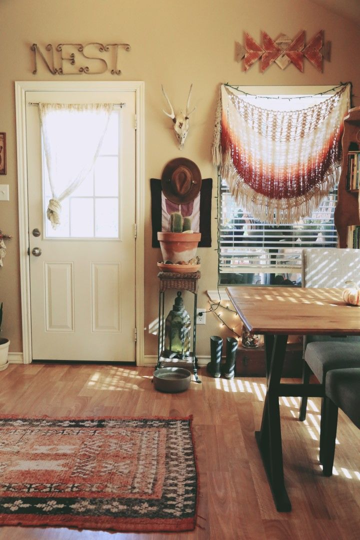 A COZY BOHO NOOK + DINING AREA | INTERIOR HOME DECOR ...
