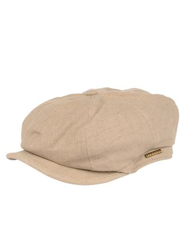 9ec498a0c5f Linen Blend 8 4 Cap in Natural