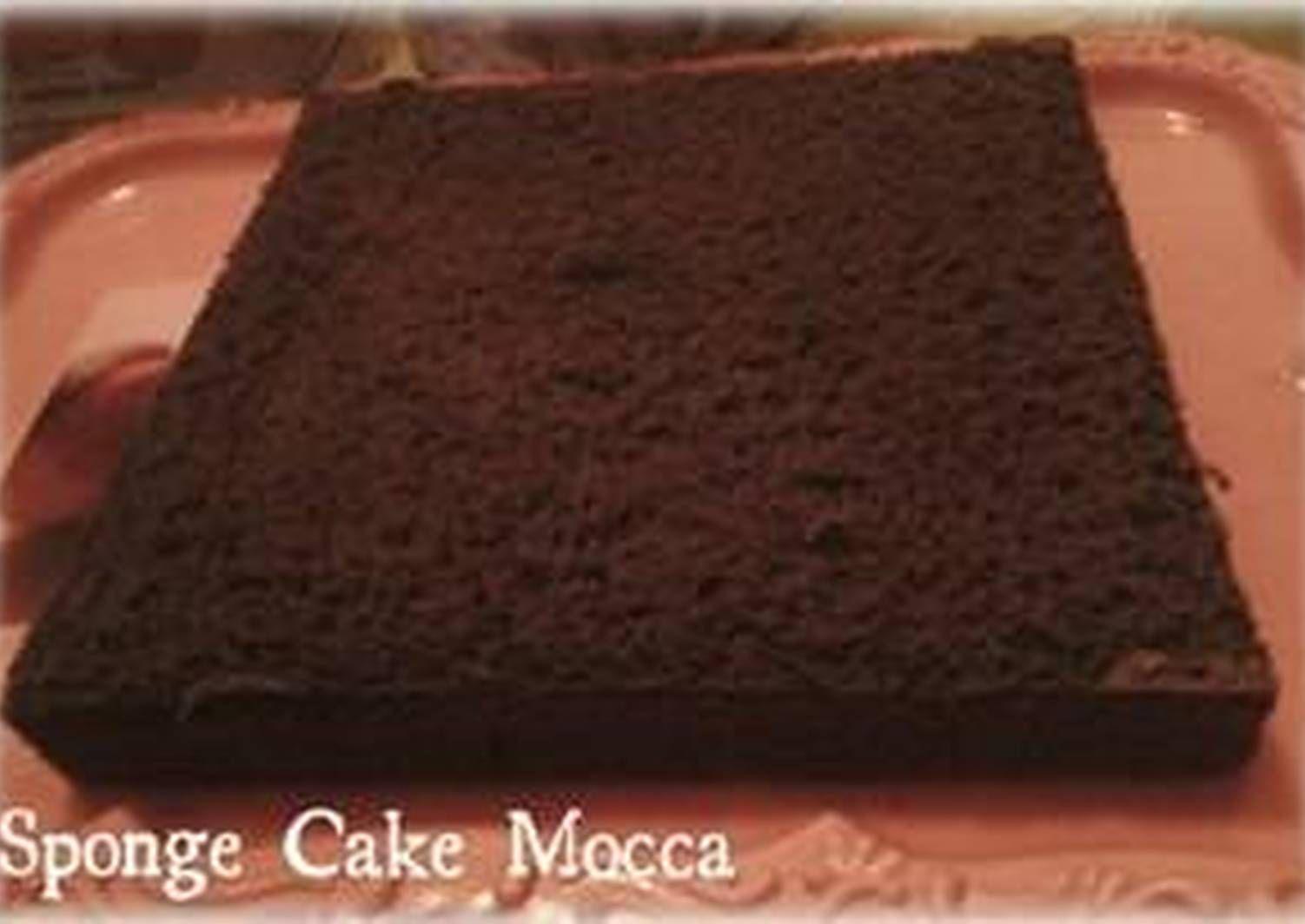 Resep Sponge Cake Mocca Ala Om Yongki Gunawan Oleh Aidi Styleshop Resep Resep Kue Bolu Kue Lapis