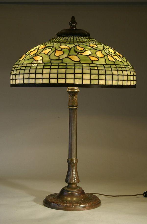 Oldest Antique Tiffany Lamp