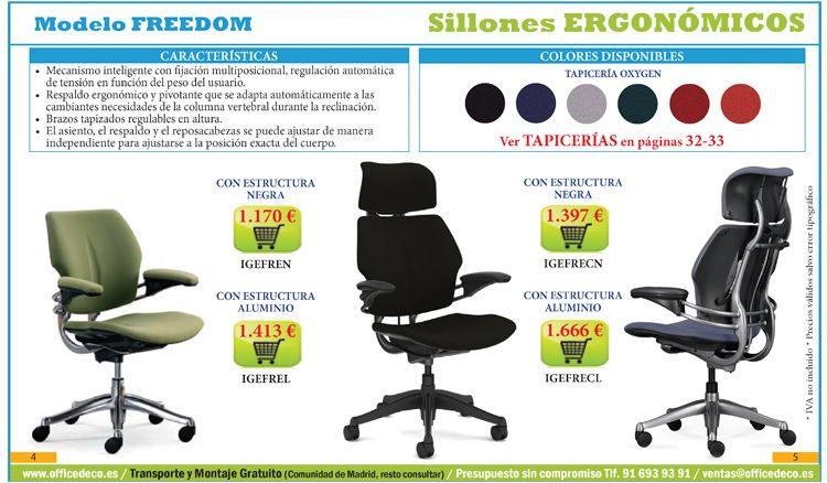 Galer a im genes sillas ergon micas muebles y sillas de for Caracteristicas de una oficina