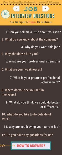 12 Typical Job Interview Questions How To Answer Them Job