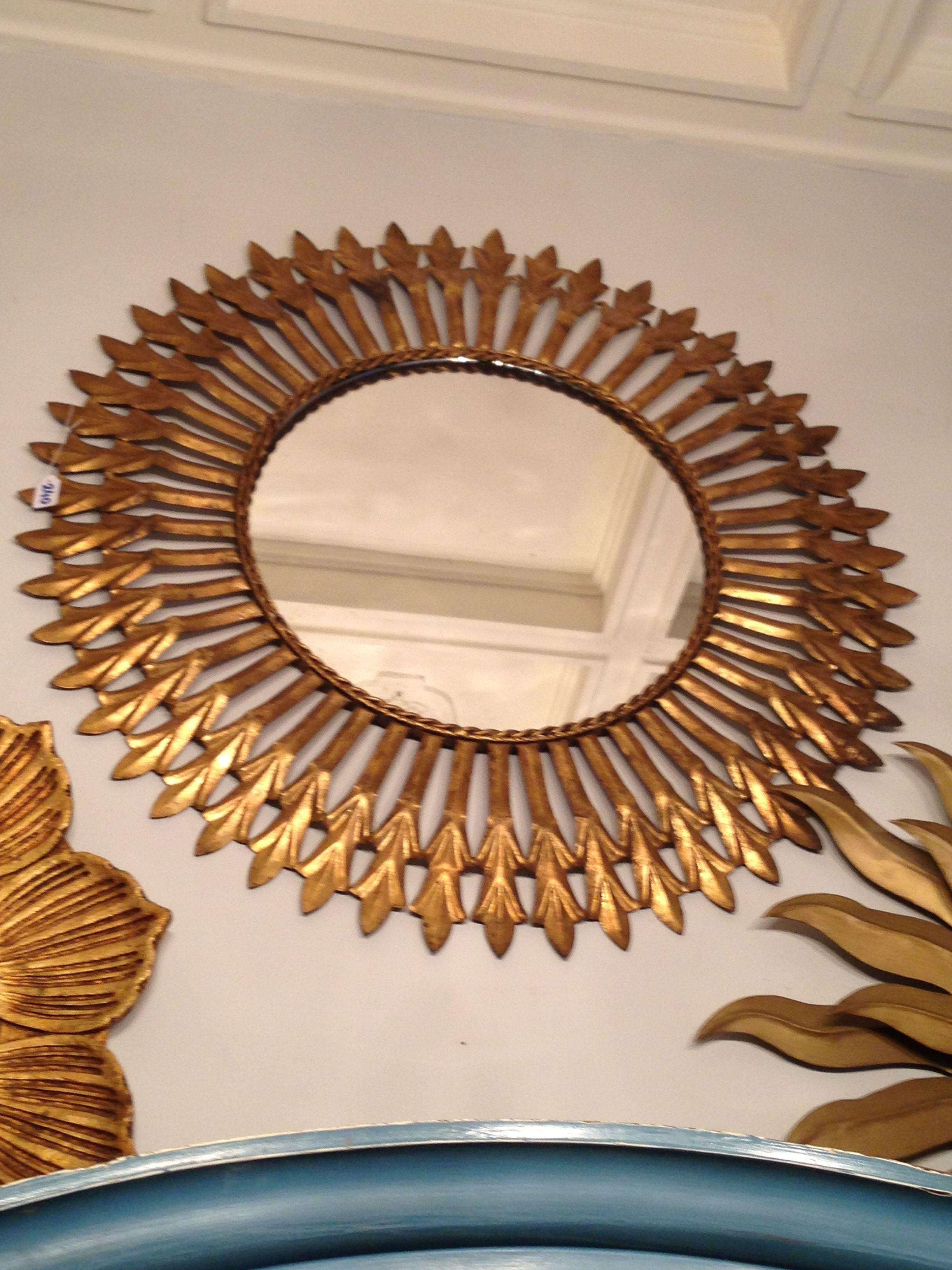 Espejo sol dorado vintage pinterest vintage - Espejo sol dorado ...