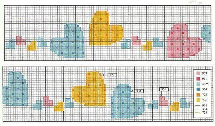 Risultati immagini per bordo lenzuolino punto croce for Punto croce immagini