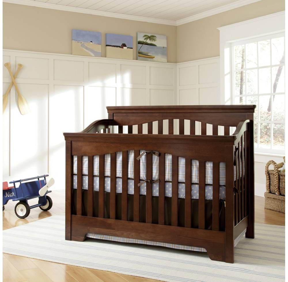 Crib Built To Grow Debut Crib Cribs Products Young America Cribs Crib Design Convertible Crib