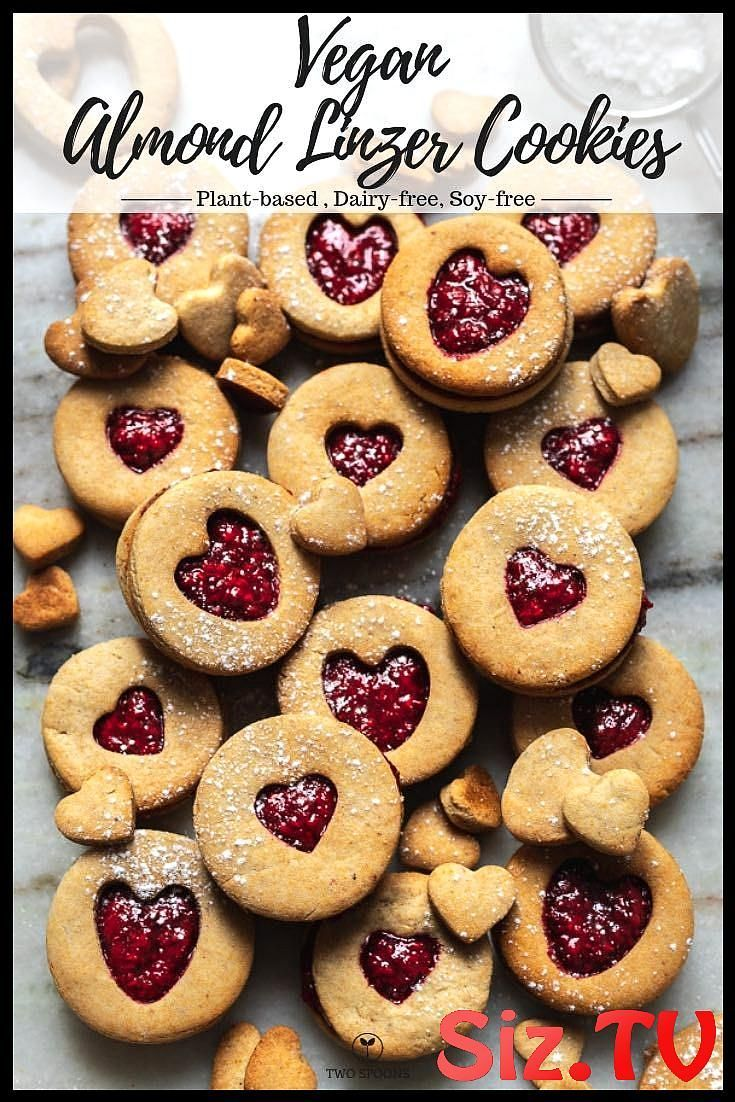 Raspberry Almond Linzer Cookies Vegan Raspberry Almond Linzer Cookies Vegan Raspberry Almond Linzer Cookies Made With Perfectly Sweet Vegan Shortbread Cookies Sandwiched Between Raspberry Chia Jam It S One Of My Favourite Cookie Recipe To Make Vegan Almond Linzer Cookies Vegan Cookies Vegan BakingVegan Raspberry Almond Linzer Co...