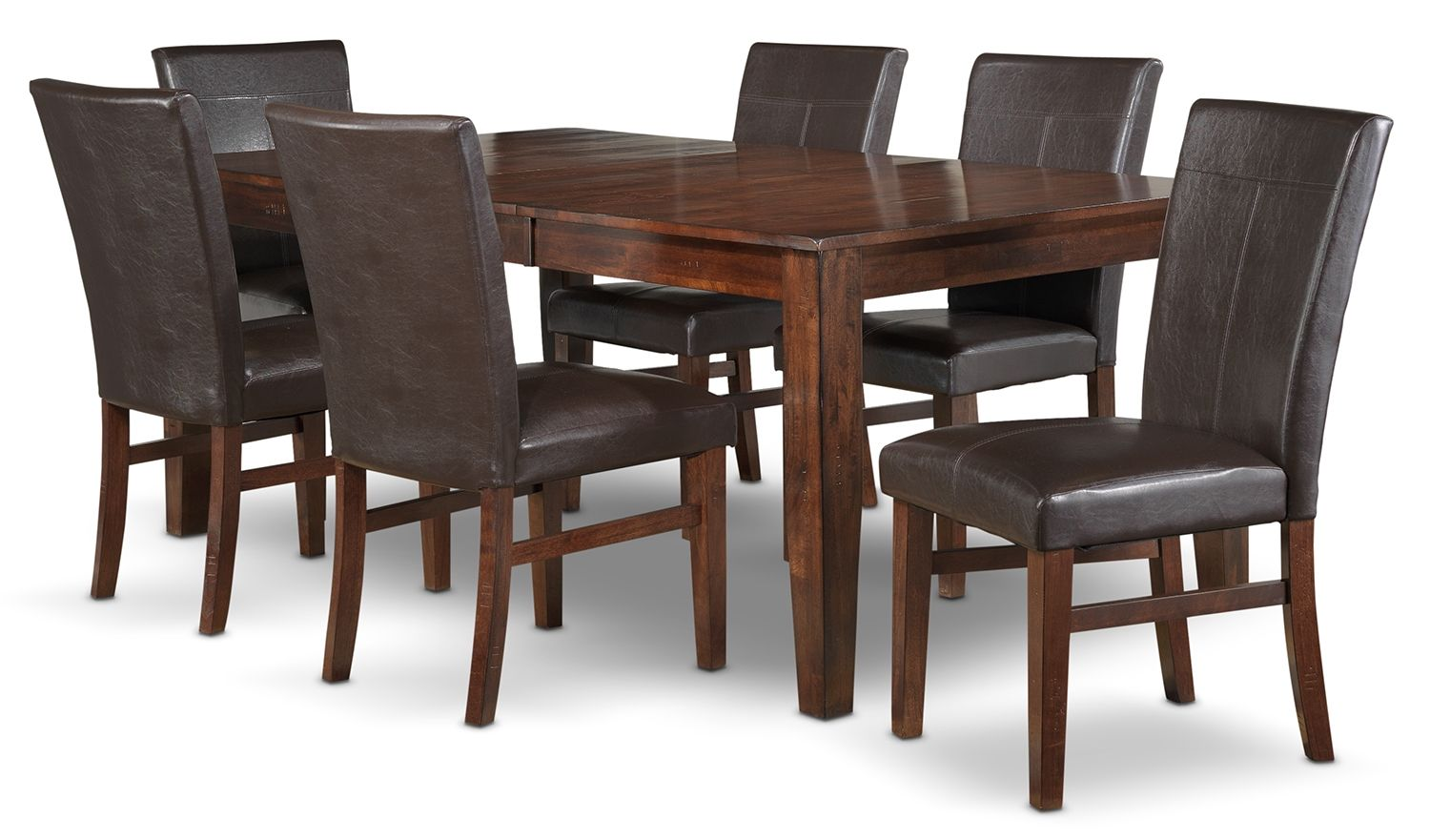 Dining room furniture kona 7 pc dining room package kims house elect to receive big savings on leons dining room packages choose from a large selection of dining room packages and dinettes for your home or condo in workwithnaturefo