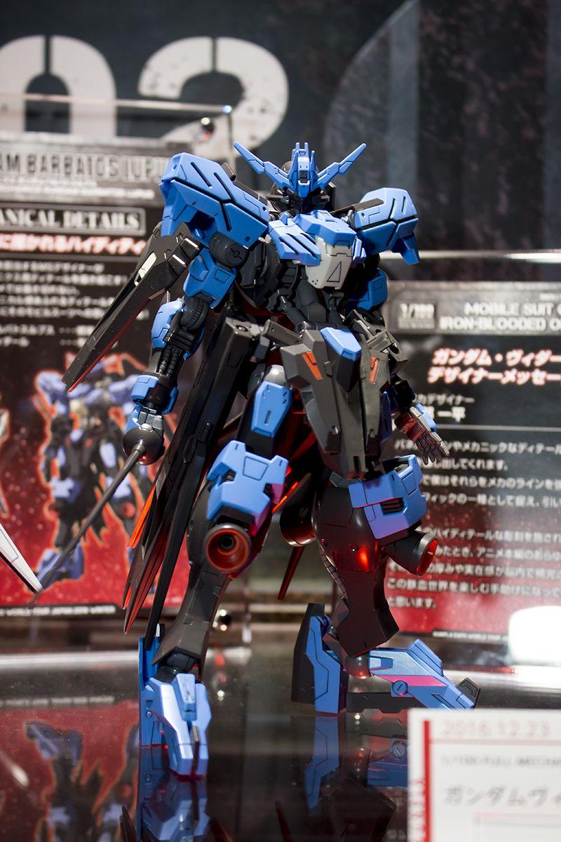 GUNDAM GUY 1/100 Full Mechanic Gundam Vidar On Display