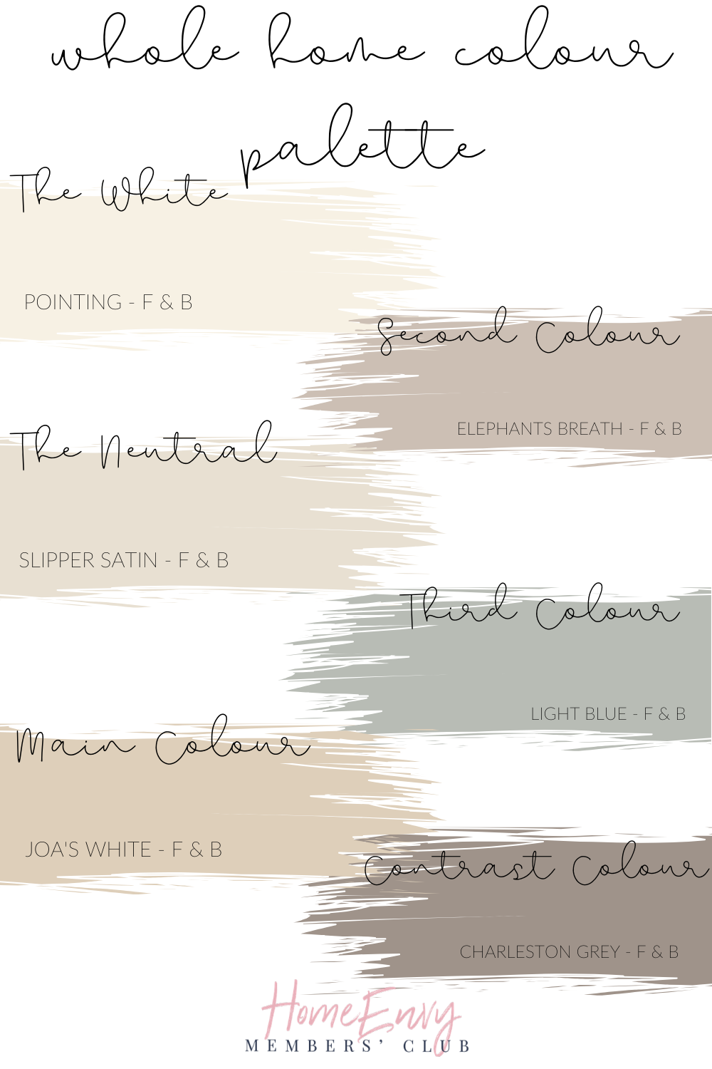 Create Your Whole Home Paint Scheme Today