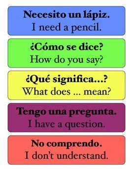 savvyseñorita inthecity | Spanish Classroom Resources | Spanish ...