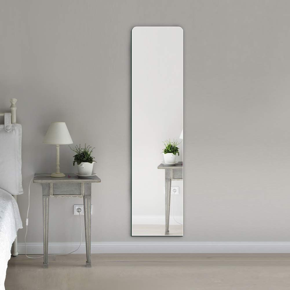 Beauty4u Full Length Mirror Wall Mounted Mirror Frameless For Bathroom Vanity Make Up Dressing Mirr In 2020 Mirror Wall Bedroom Full Length Mirror Wall Dressing Mirror