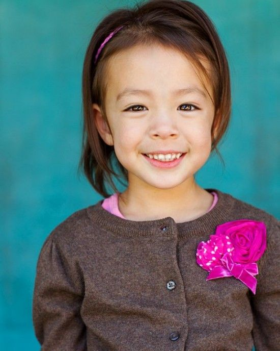 Aww 14 Adorable Half Korean Children Modern Family Lily Aubrey Anderson Half Korean