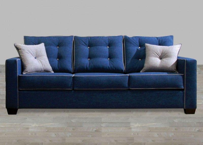 Contemporary Blue Fabric Sofa Blue Fabric Sofa Modern Sofa Sectional Best Leather Sofa