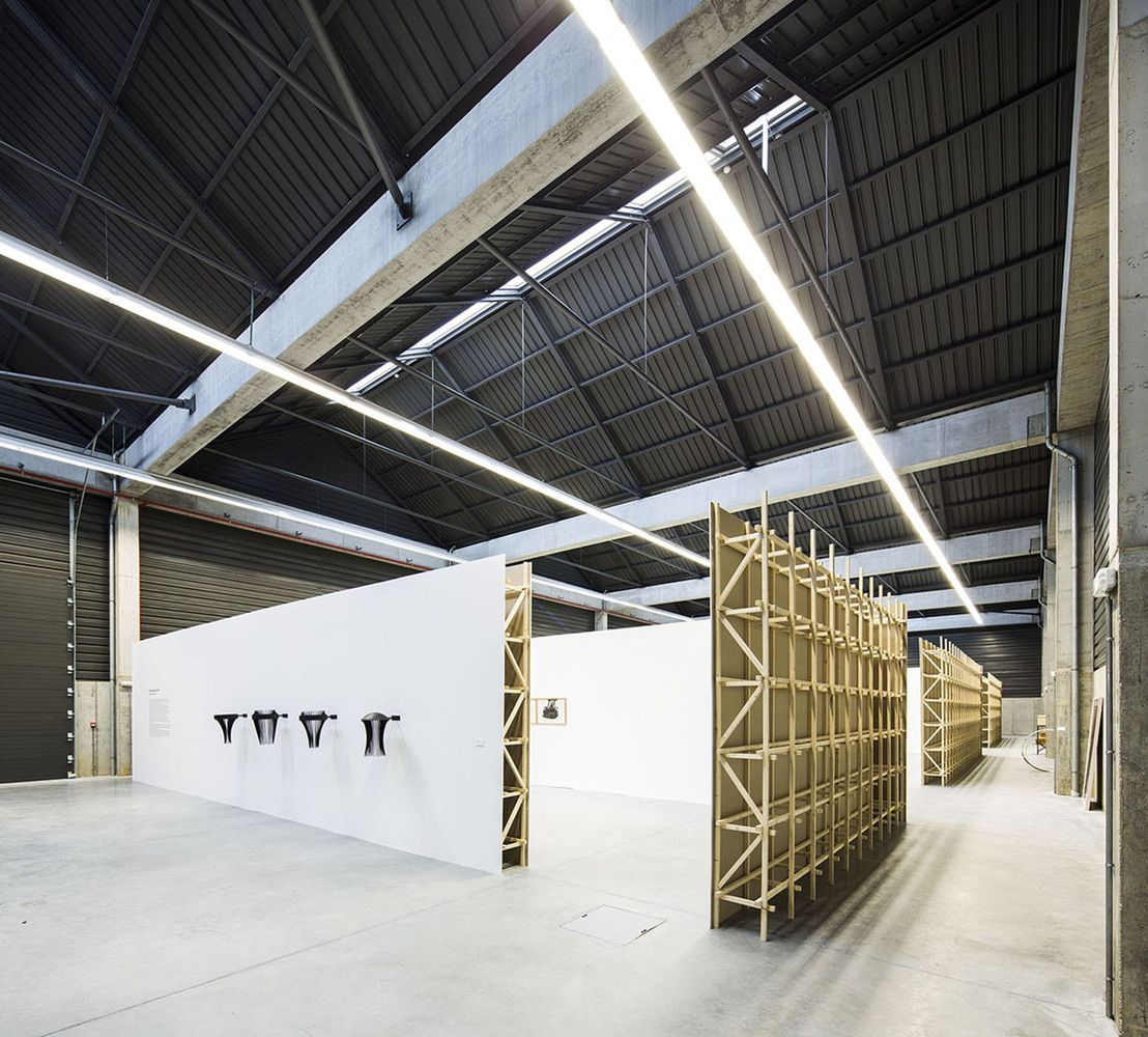 warehouse office space. Gallery - Adémia Office Building And Industrial Warehouse / João Mendes Ribeiro 4 Space