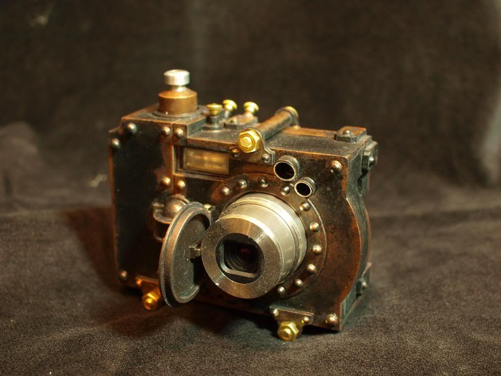 Steampunk camera by Herr Doktor
