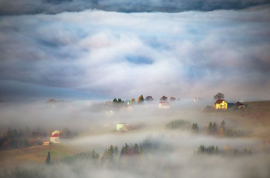 Haze In Valley By Marcin Sobas Poland Artimpressions The - The mesmerising beauty of moravian fields photographed by marcin sobas