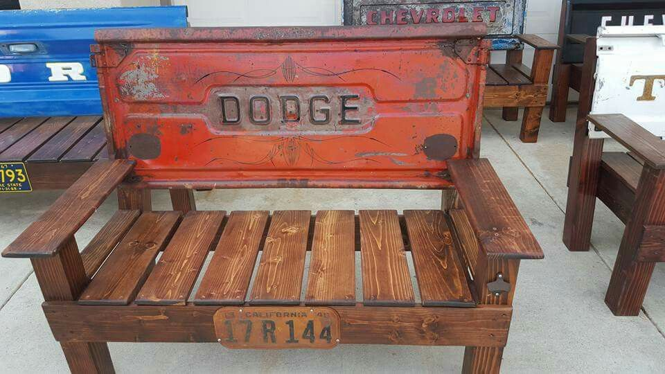My Favorite Tailgate Park Bench Sold To The Owner Of Temecula