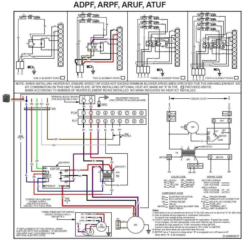 Goodman Air Handler Wiring Diagram Inspirational In 2020 Thermostat Wiring Air Handler Goodman Heat Pump