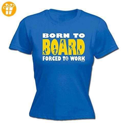 Fonfella Slogans Damen T-Shirt, Slogan Blau Königsblau Small - Shirts mit spruch (*Partner-Link)