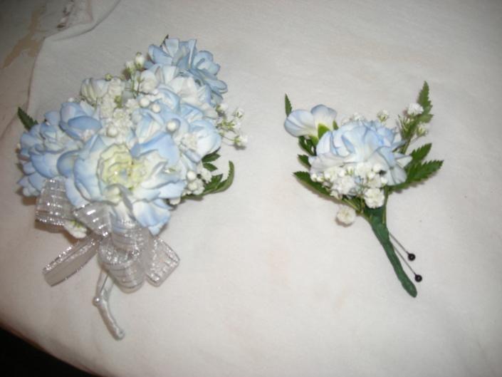 Light Blue Silk Corsage Letsdancegarters.com | Prom U0026 Homecoming Dances |  Pinterest | Corsage And Prom Corsage.