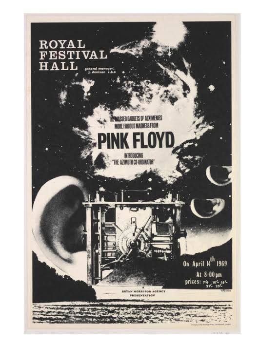 Pink Floyd 1969 concerts - London's Royal Festival Hall