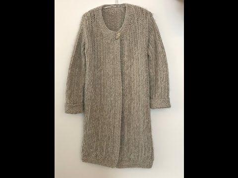 Genc Kizlar Icin Ari Kovani Ornegi Ile Orulen Cok Sik Bir Hirka Modeli Youtube Kazak Elbise Hirkalar Triko