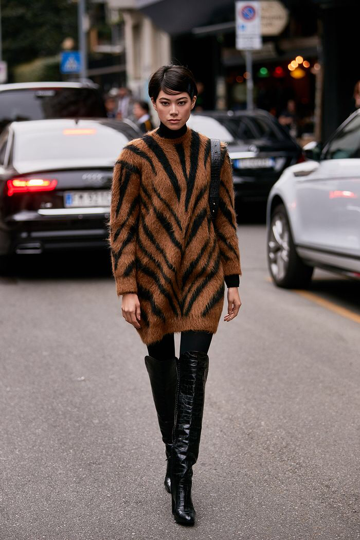 The Latest Street Style From Milan Fashion Week