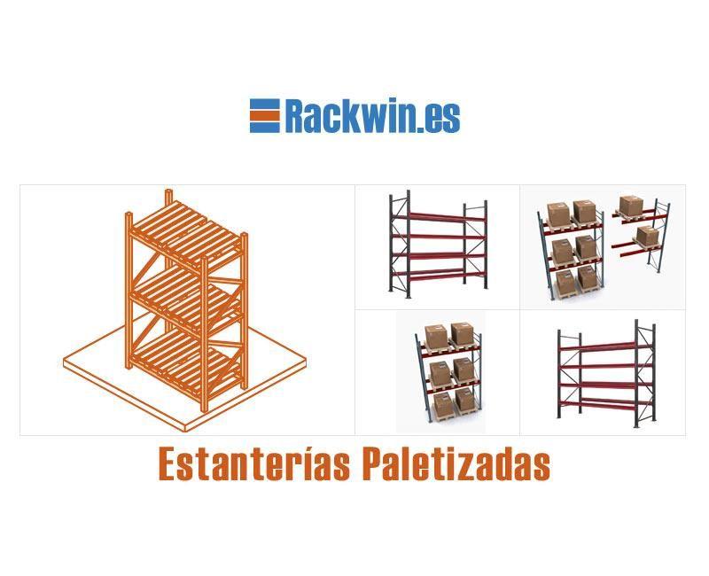 Almacenamiento En Estanterias Metalicas.Estanterias Metalicas Paletizadas Las Mejores Estanterias