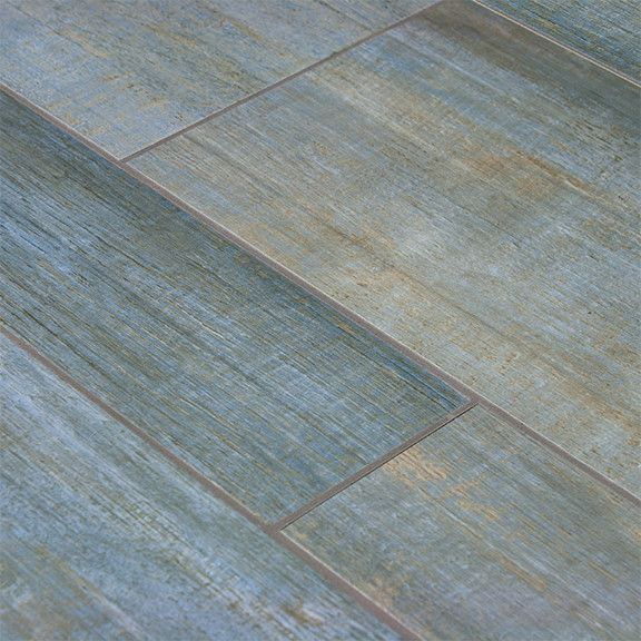 Unique Tile That Looks Like White Wood Barrique Blue Plank R Intended Inspiration