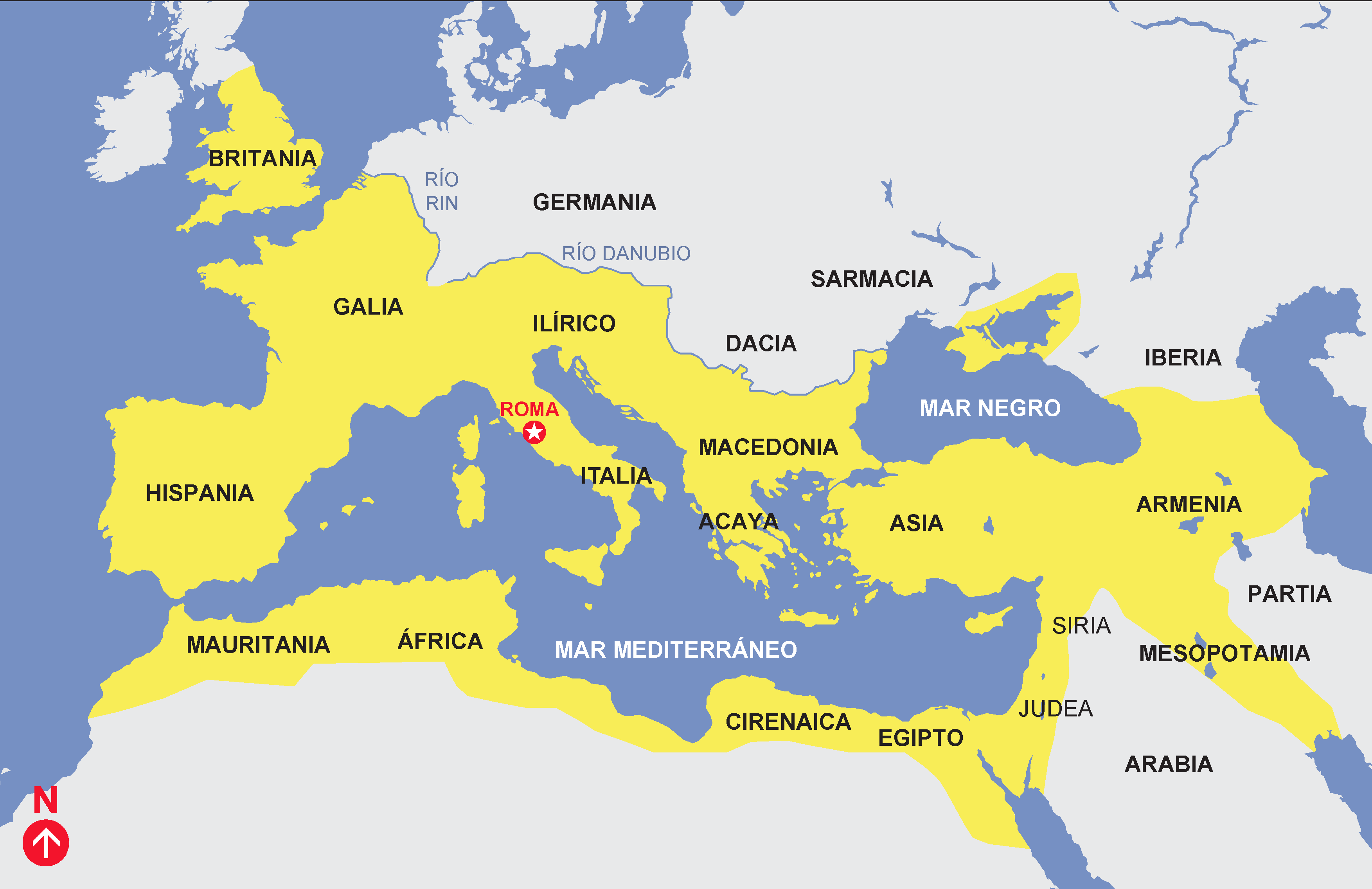 Pin De Angelica Pena Zambrano En Peninsula Imperio Romano Mapa Del A Geographical History Of Africa Paraphrase