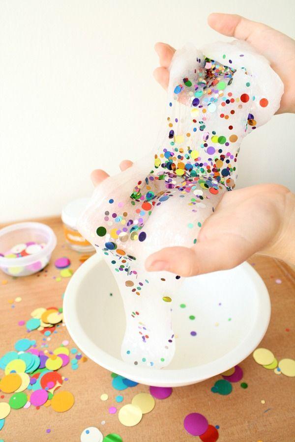 Confetti Slime for Kids