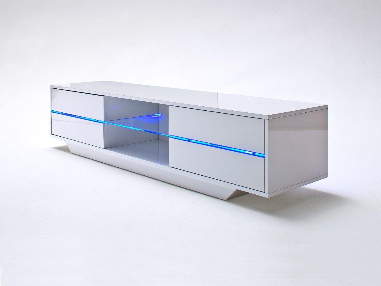 LIGHT Tv-bänk Vit - Tv-bänkar - Förvaring - Inomhus