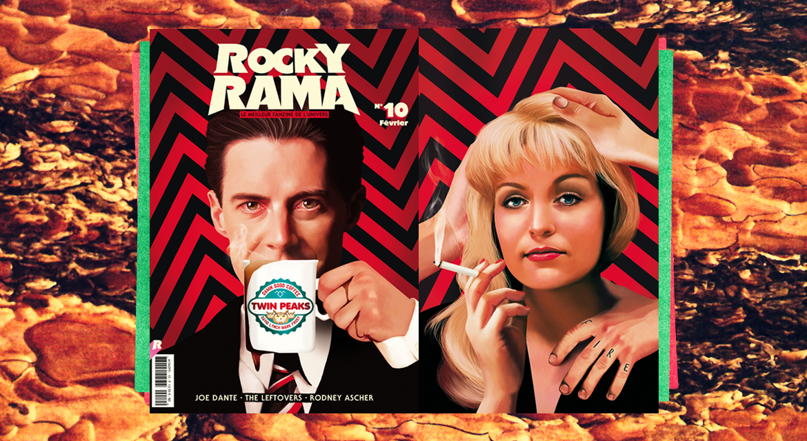 Magazine Rockyrama #illustration #twinpeaks #rockyrama