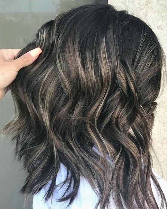 Grey Hair Uk Highlights To Hide Grey Darkbrownhair Ash Blonde Hair Colour Ash Blonde Highlights On Dark Hair Dark Hair With Highlights