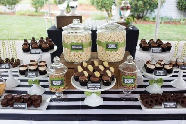 19 chocolate dessert bar for a man 50th birthday party shelterness