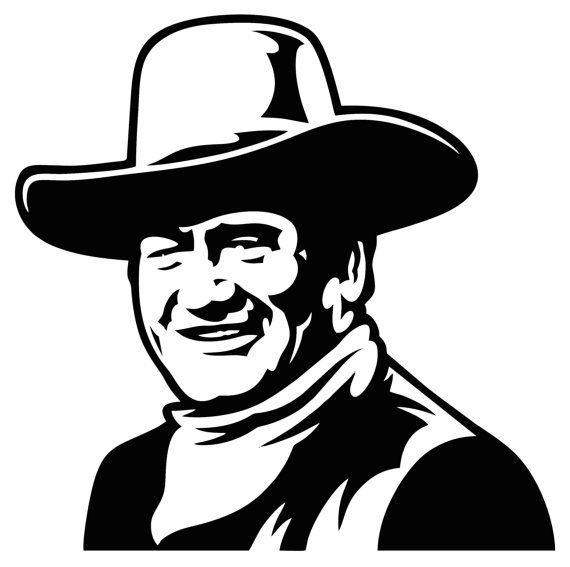 John Wayne Wall Art