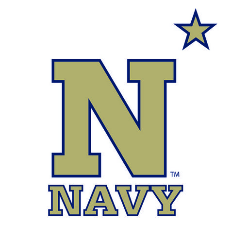 Image result for navy college football logo