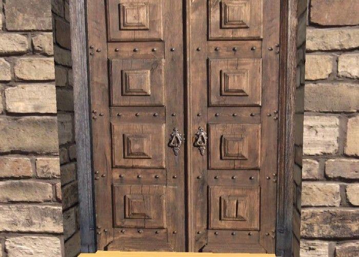 Old Castle Doors | Door Double Fortress Door Wicked Old DoorHeavy Duty & Old Castle Doors | Door Double Fortress Door Wicked Old Door ... Pezcame.Com