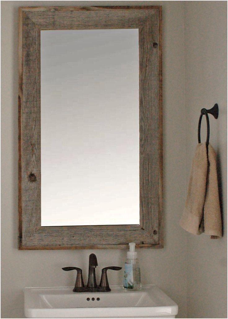 Rustic Bathroom Mirrors In 2019